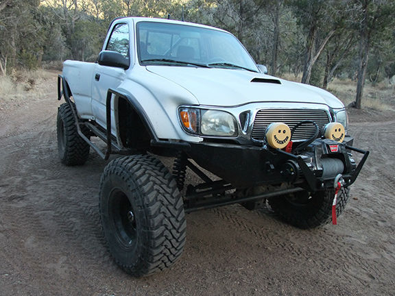 Custom Tacoma front right