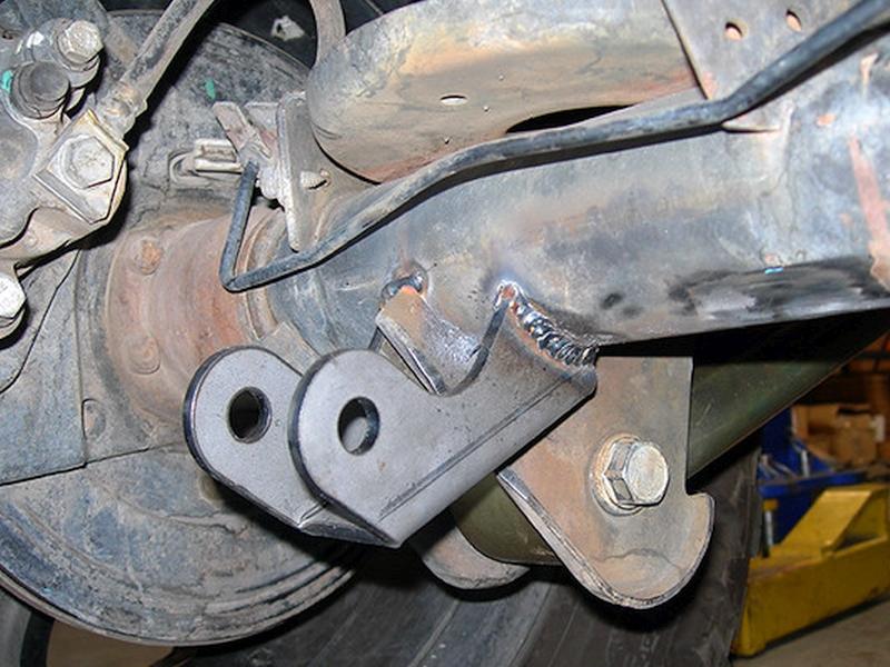 Jeep TJ/LJ Lower Rear Shock Mount