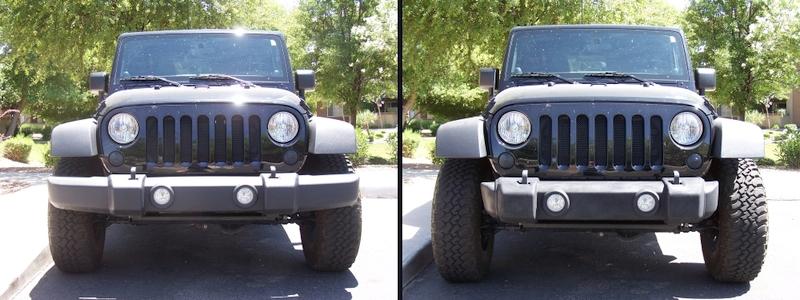 Jeep JK Stubby Stock Front Bumper