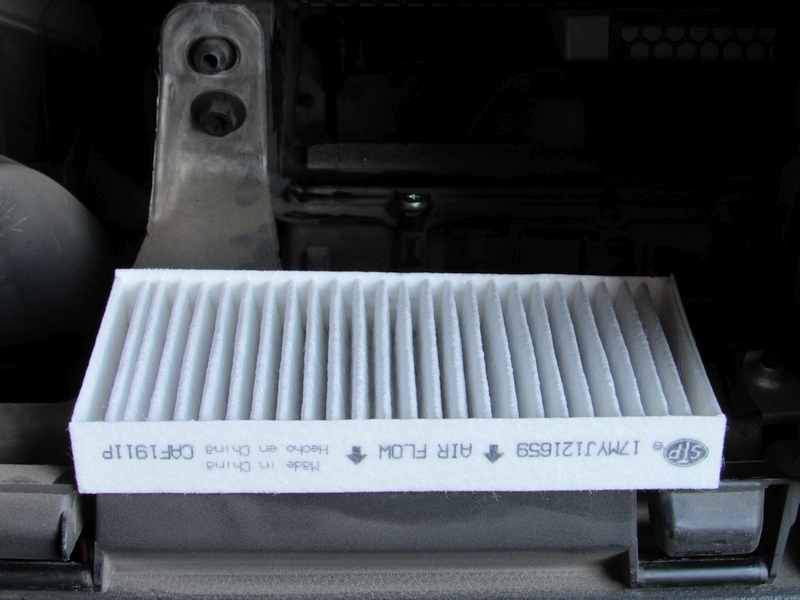 Jeep JK cabin air filter replacement