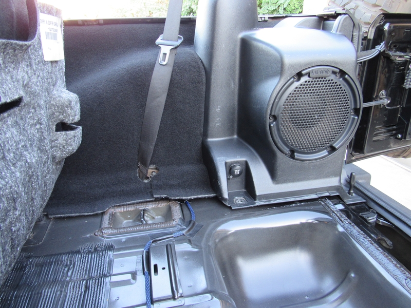 Jeep Wrangler JK Cargo Area Light