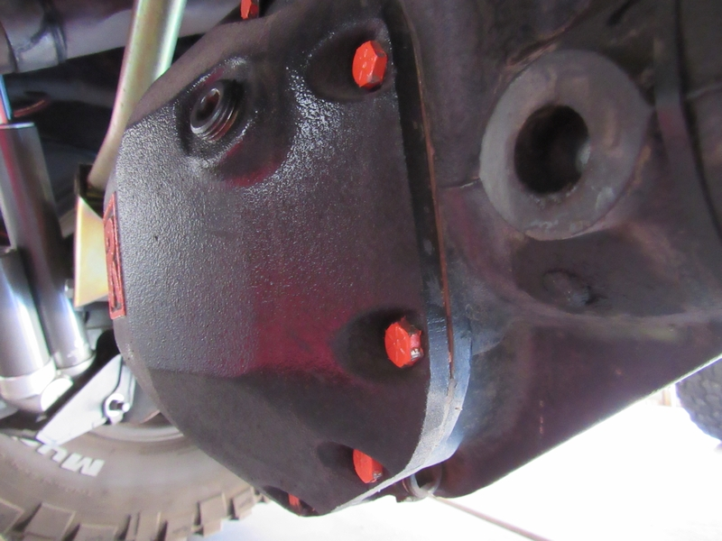 Jeep JK Differential Fluid Change