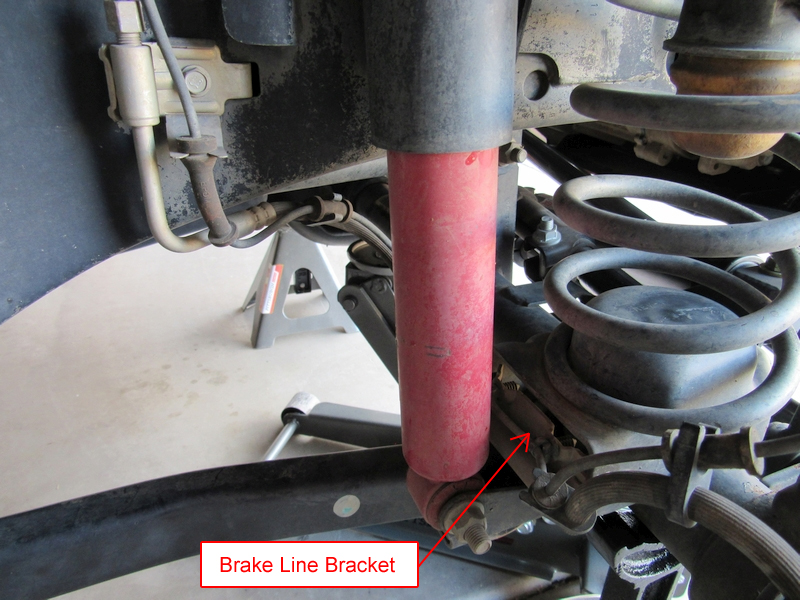 Jeep JK Stainless Steel Extended Brake Lines