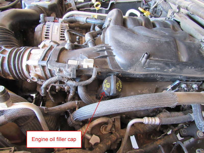 Jeep JK 3.6L Pentastar Engine Oil Change