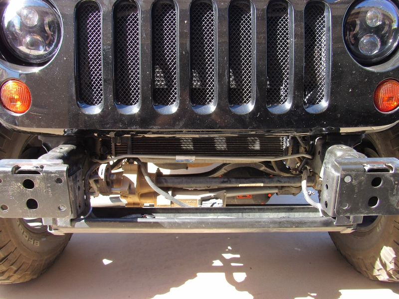 Jeep JK Winch Bumper by ShrockWorks