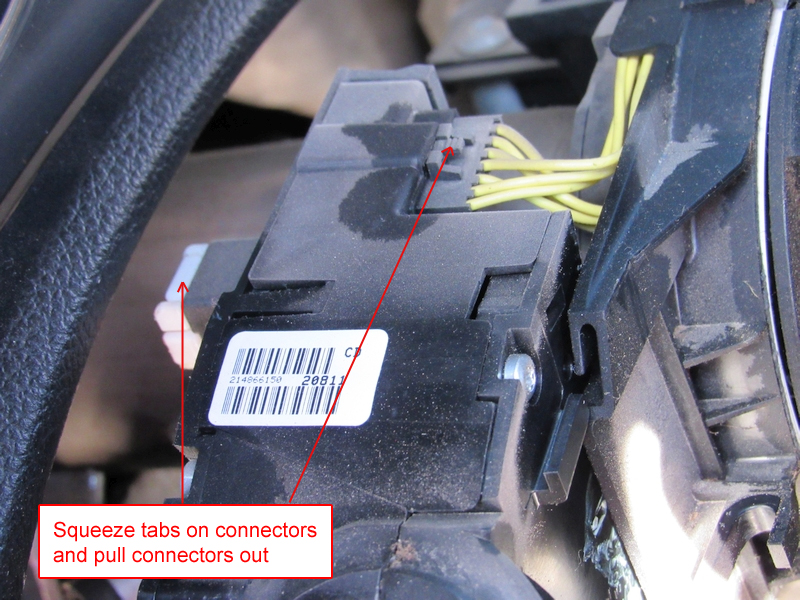 Jeep JK multi-function switch replacement