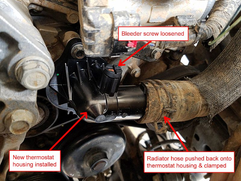 Jeep JK thermostat housing replacement | AZoffroading com