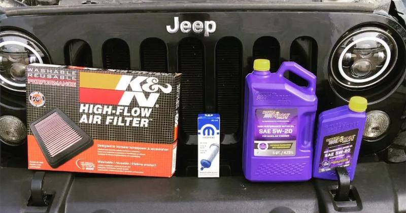 Jeep Wrangler Fluid Capacities