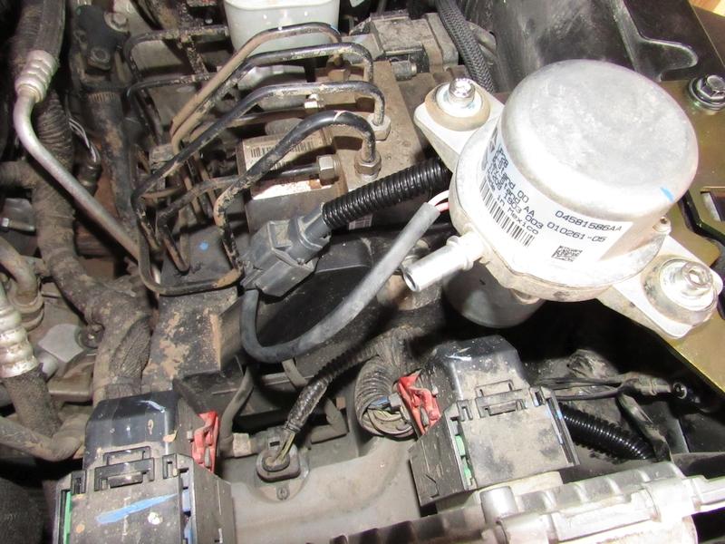 Jeep Jk Vacuum Pump Relocation Diy Azoffroading Com