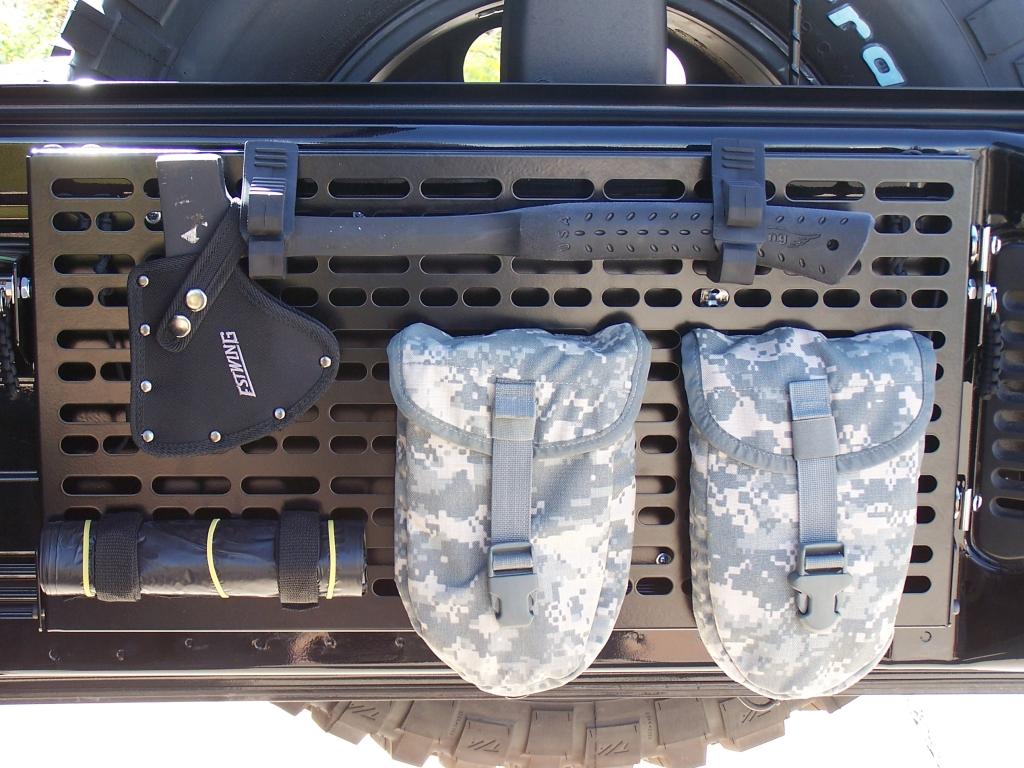 008 Jeep JK tailgate panel u0026 fold down