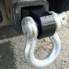 jeep recovery gear - hitch receiver shackle