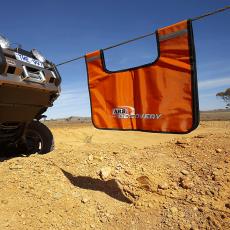 jeep recovery gear - winch line damper