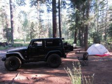 Camping, backpacking and hiking