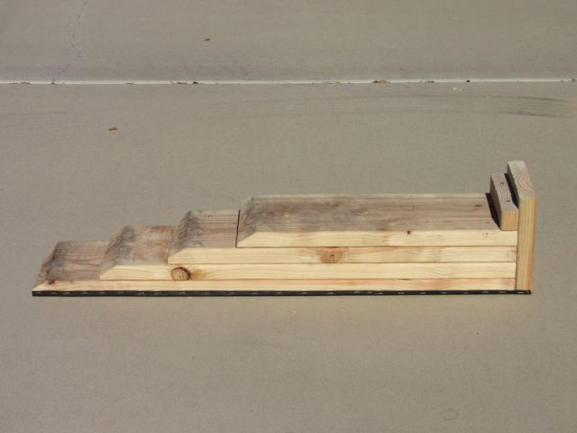 Do-It-Yourself wooden car ramps